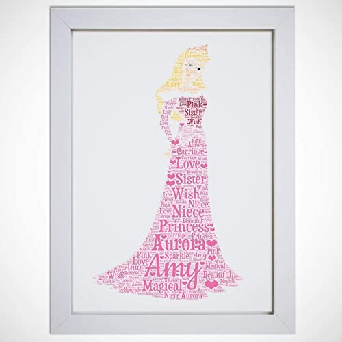 Personalised Aurora Word Art Print A4 Prints /& Framed A5