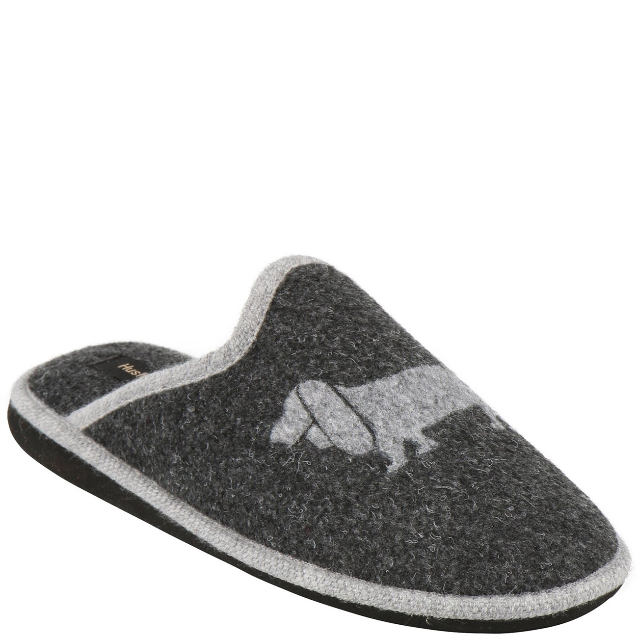 Hush Puppies Damens Homeslippers Felt Grau Antrasit and Grau Grau Felt 3cf318