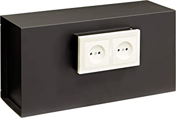 Arregui 23000W-S1 Caja Fuerte Camuflada para Rejilla Enchufe, Negro: Amazon.es: Bricolaje y herramientas