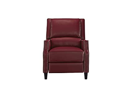 Phenomenal Standard Furniture 4218837V Alston Push Back Recliner Red Ncnpc Chair Design For Home Ncnpcorg