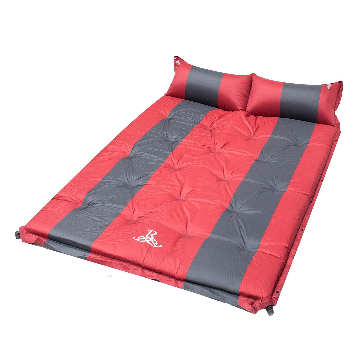 BELLAMORE GIFT Self-Inflating Sleeping Pad with Armrest & Pillow - Inflatable Foam Sleeping Mat for Hiking, Camping, and Traveling - Compact, Durable by BELLAMORE GIFT