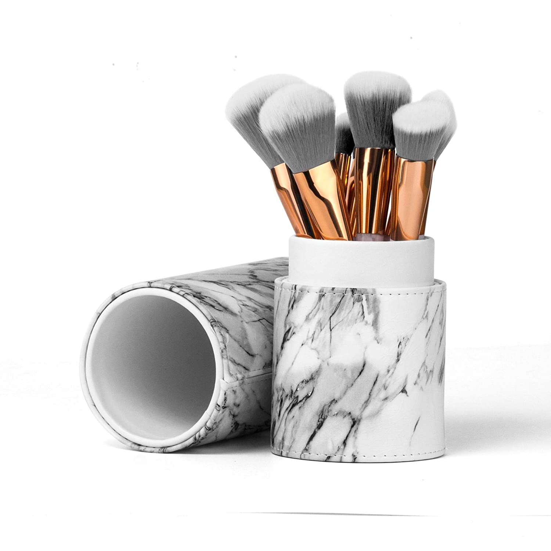 Herramientas de belleza 15 pinceles pinceles de maquillaje de mármol, pinceles 15 con suave ,suaves,Calidad Premium,brochas de maquillaje 416133