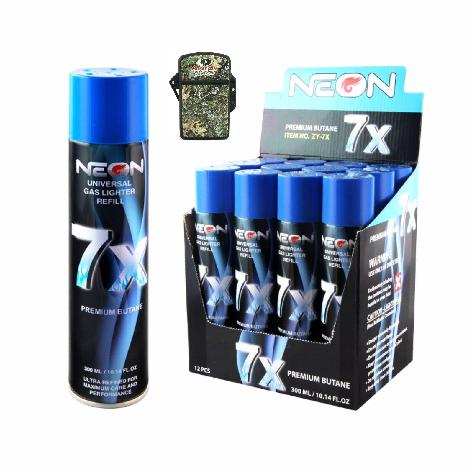 Neon 7x butane fuel+ torchLighter (12) (12)