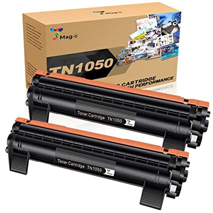 TN1050 Tóner, 7Magic TN1050 Compatible con Brother TN1050 TN 1050,Compatible con Brother DCP-1510 DCP-1612W HL-1110 MFC-1810 MFC-1910W HL-1212W ...