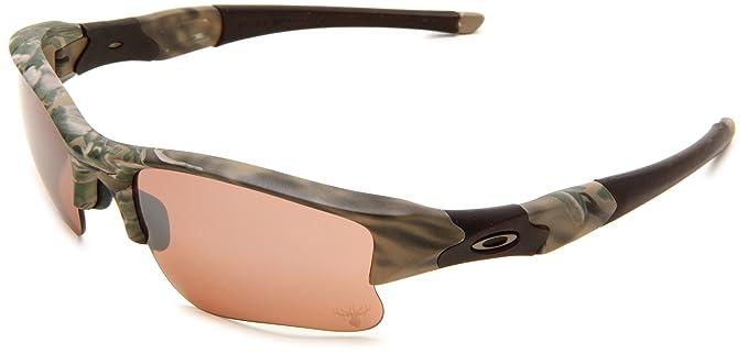 5b6eca8634 Oakley Men s King s® Flak Jacket® XLJ Desert Camo W Vr28 Black Iridium Lens