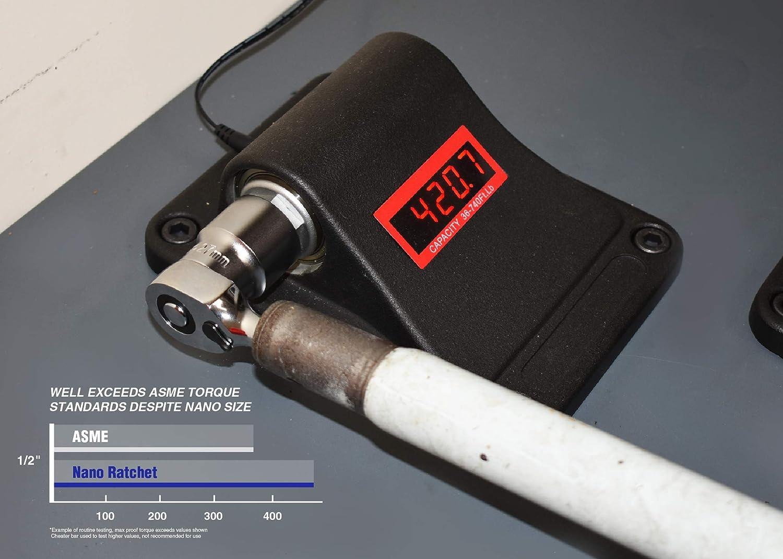Astro Tools 91210 Nano Ratchet 1//2 Drive Head in 3//8 Ratchet Body