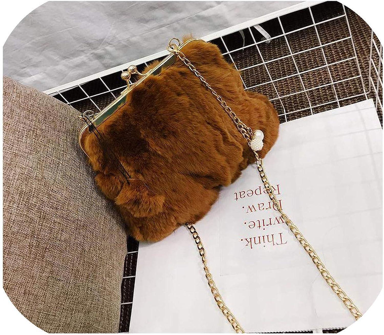 Women Clutch Bag Soft Winter Evening Party Bag Clutches Clutch Purse Lady Shoulder Bag