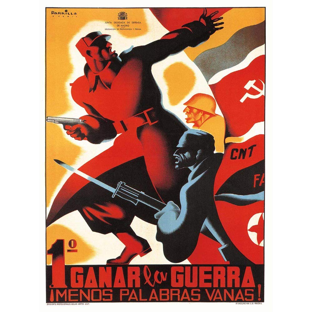 Amazon.com: Wee Blue Coo War Propaganda Spanish Civil Cnt ...