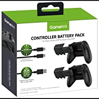 GameWill Rechargeable Controller Battery Pack [2-PACK] with [1200 mAh HIGH POWER capacity] for Xbox Series X and Series…
