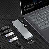 Surface Laptop 3 Docking Station, Rocketek Microsoft Surface USB 3.0 Hub Dock with 4K HDMI, 3 X USB 3.0 Ports, 2 X TF…