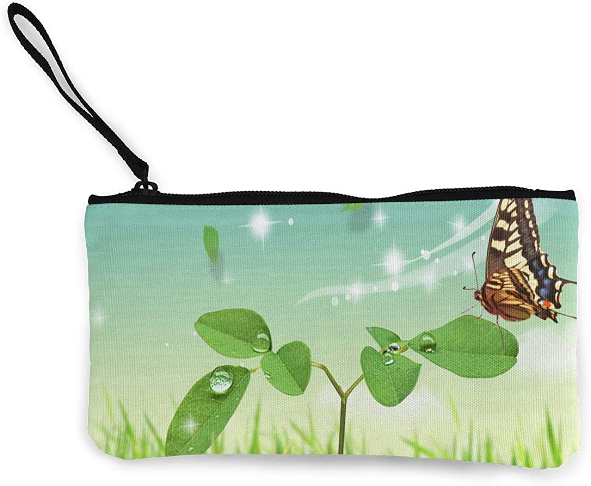 Coin Purse Nature Butterfly...