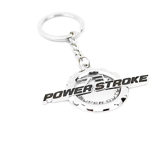 Amazon Com 1 New Chrome Ford Custom 7 3l F250 F350 Powerstroke Key