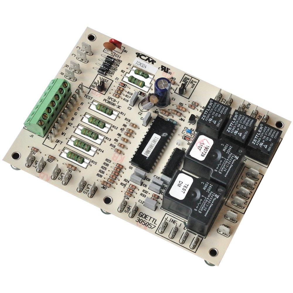 ICM Controls ICM324 Defrost Control, Goettl 305057, ICM AJ1008
