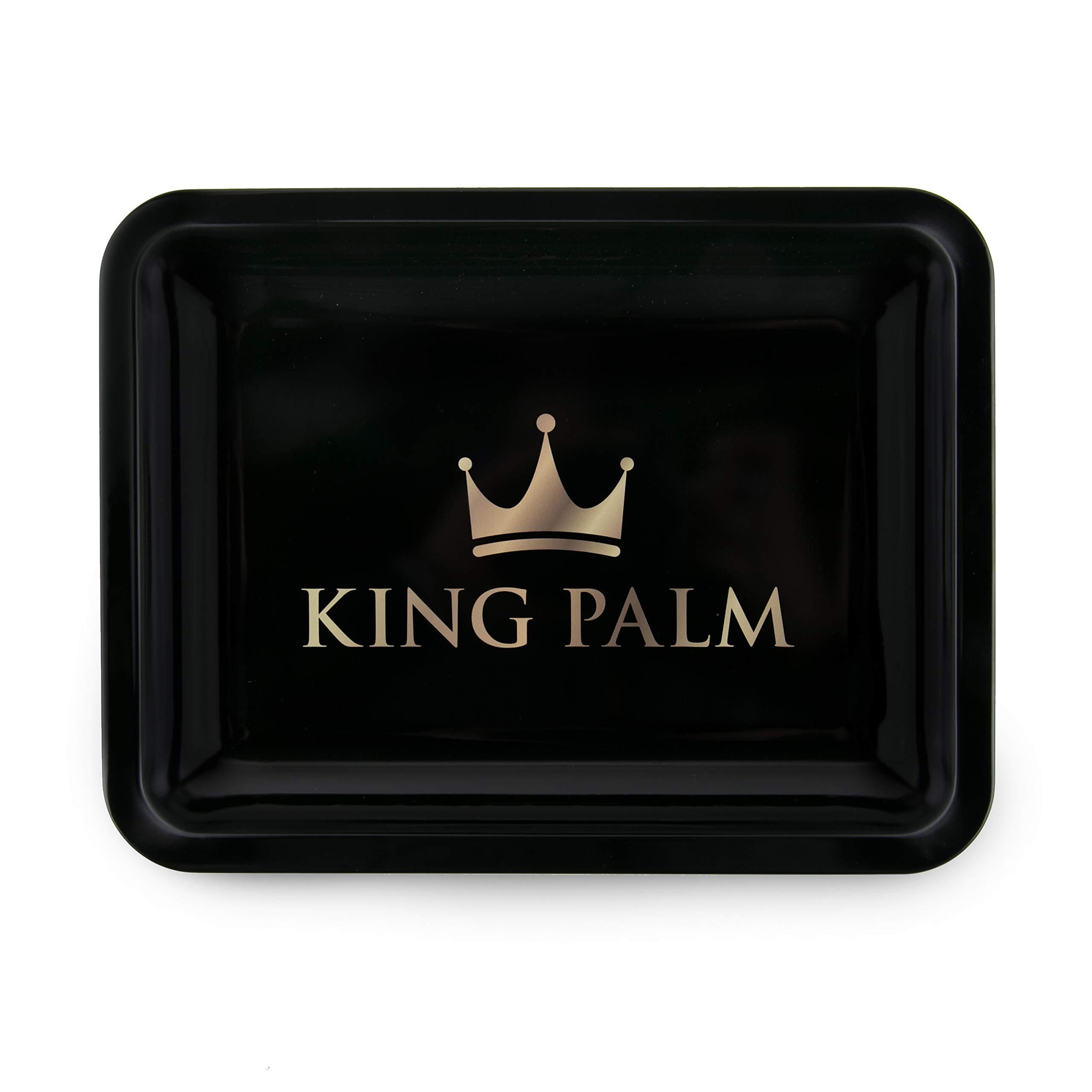 King Palm Metal Rolling Tray - Original - (Medium - 8'' x 10'') by King Palms