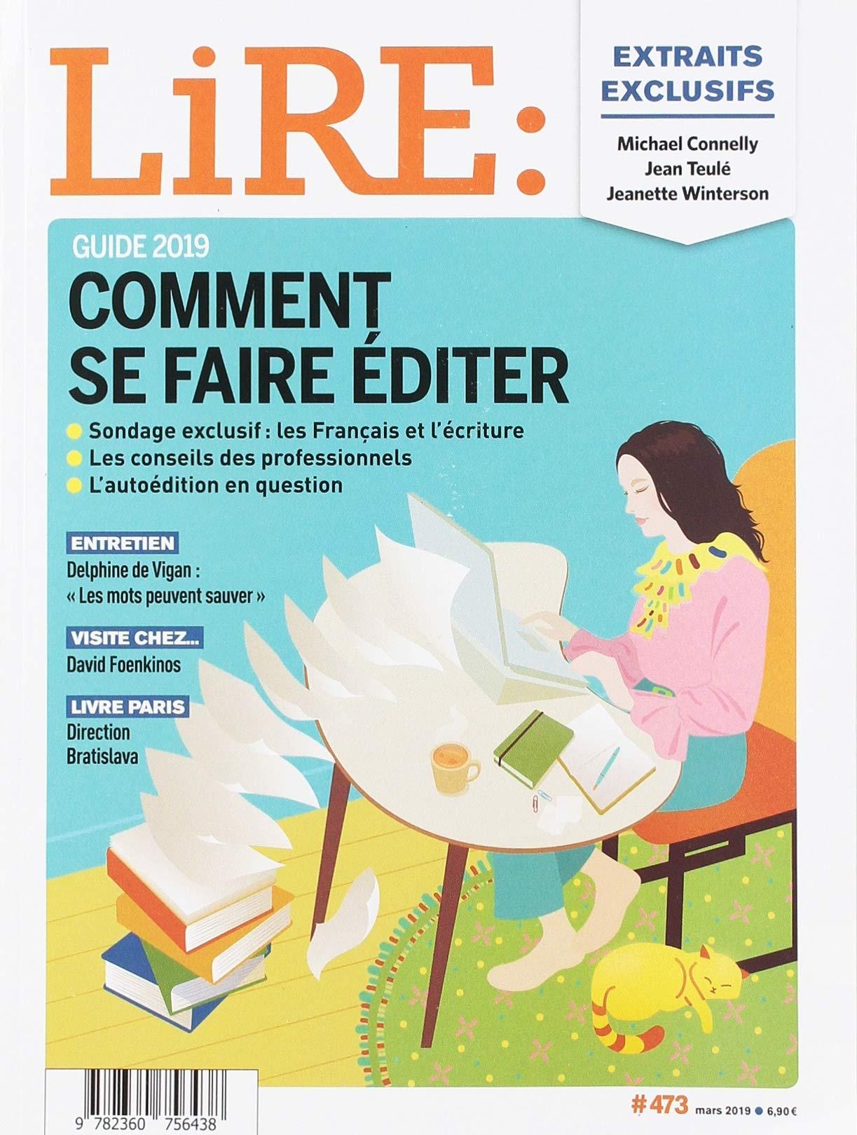 Lire Le Magazine Des Livres Et Des Ecrivains Mars 2019