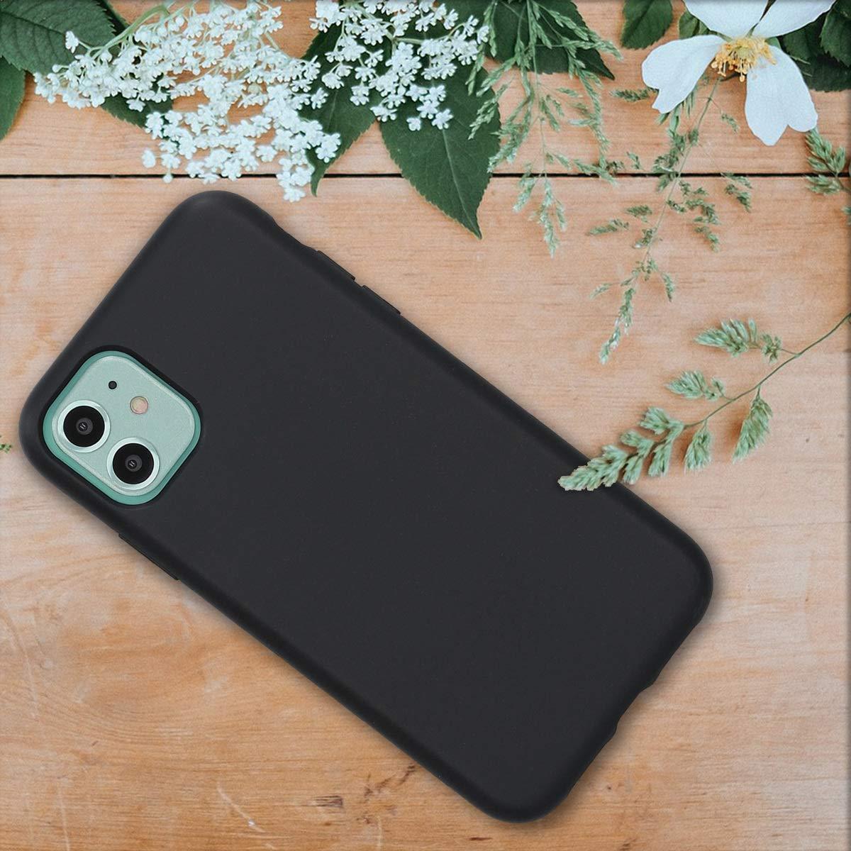 kalibri Funda Compatible con Apple iPhone 11 Carcasa Hecha de TPU y Trigo Natural ecol/ógico Blanco