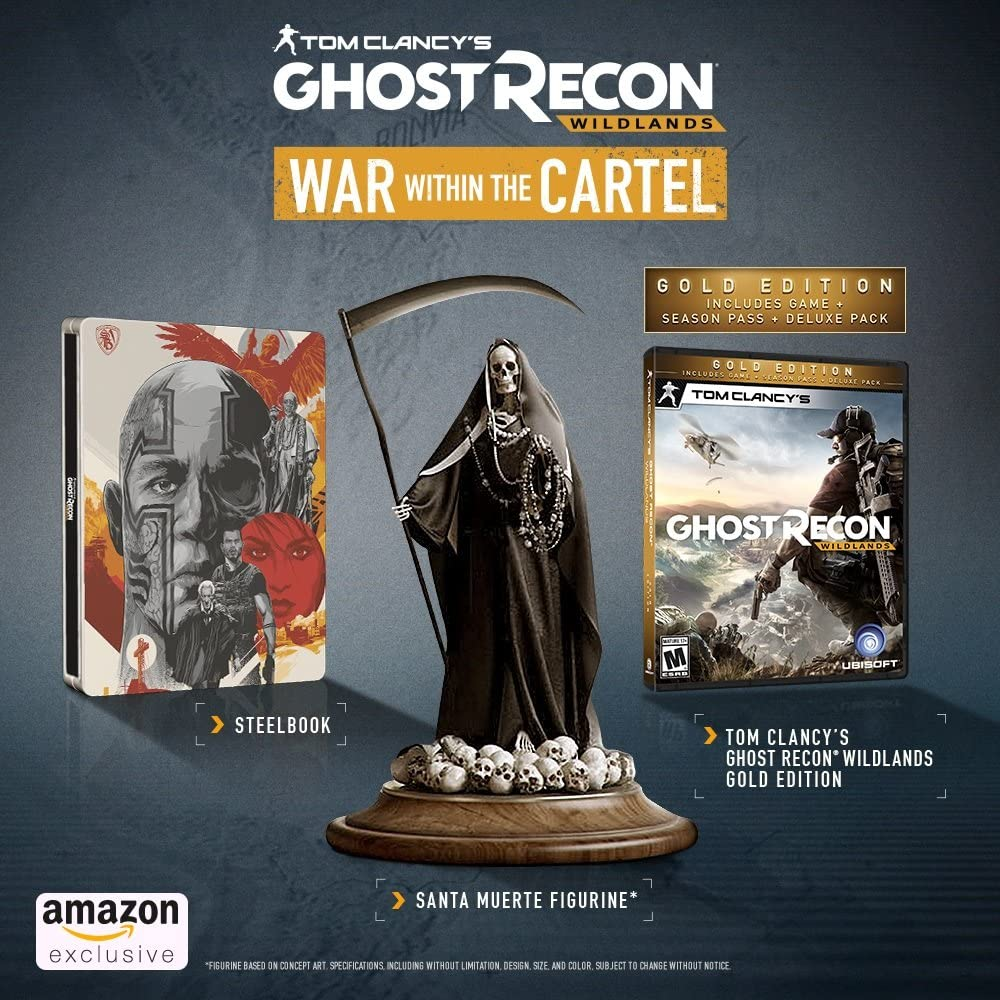 Amazon.com: Tom Clancys Ghost Recon Wildlands War Within ...