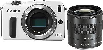 Canon EOS M - Cámara Evil de 18 MP (Pantalla táctil de 3 ...