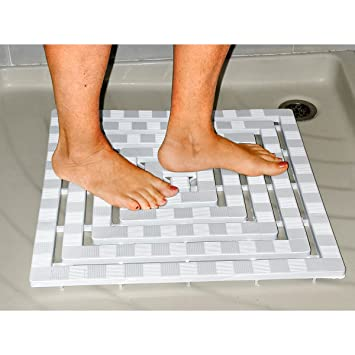 Duscheinsatz-RutschfestDuschmatte Badezimmerzubehör Duschzubehör ...
