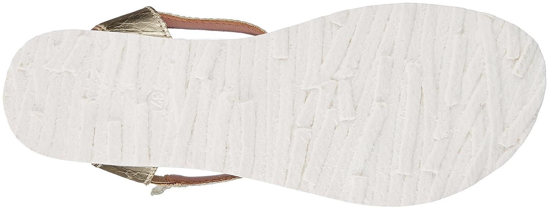 Mjus 255072-0101-6311, Sandali con Cinturino alla alla alla Caviglia Donna  Oro (Platino 6311) edaed5
