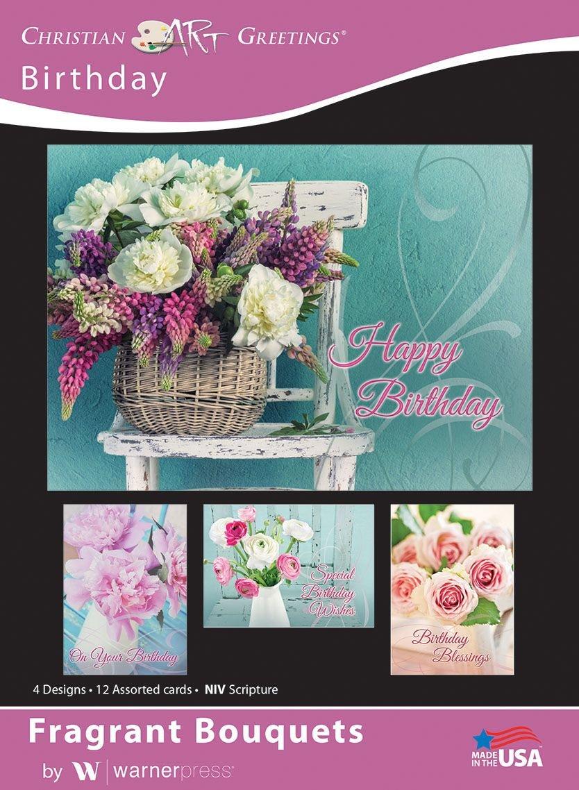 Amazon Fragrant Bouquets Birthday Greeting Cards Niv