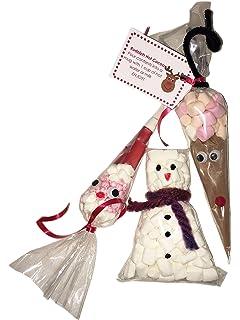Party People 12 X Diy Christmas Sweet Bags Reindeer Hot