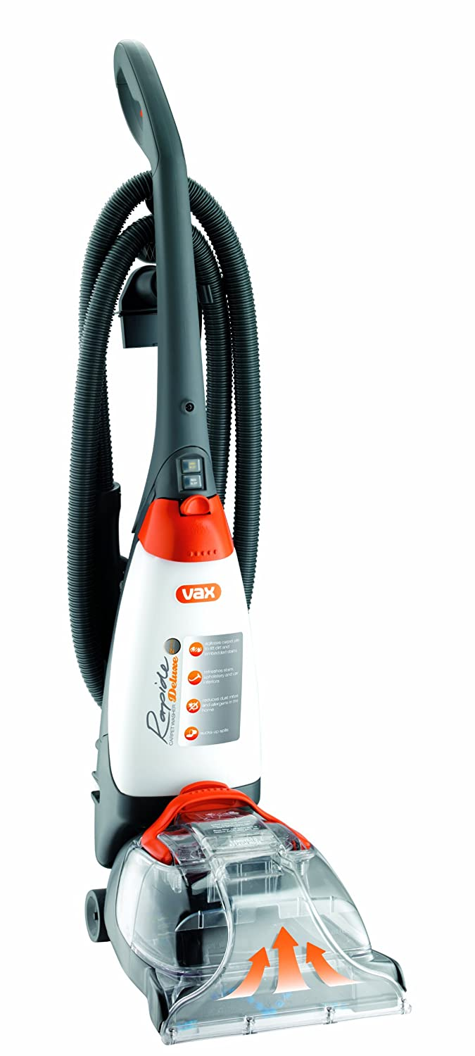 vax v 026rd rapide deluxe upright carpet and upholstery washer rh amazon co uk vax rapide deluxe repair manual vax rapide deluxe carpet cleaner instruction manual
