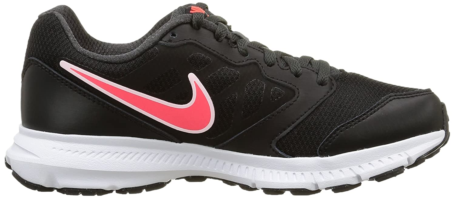 Amazon.com | NIKE Women's Downshifter 6 Black/Hyper Punch/Anthracite  Ankle-High Leather Running Shoe - 7M | Road Running