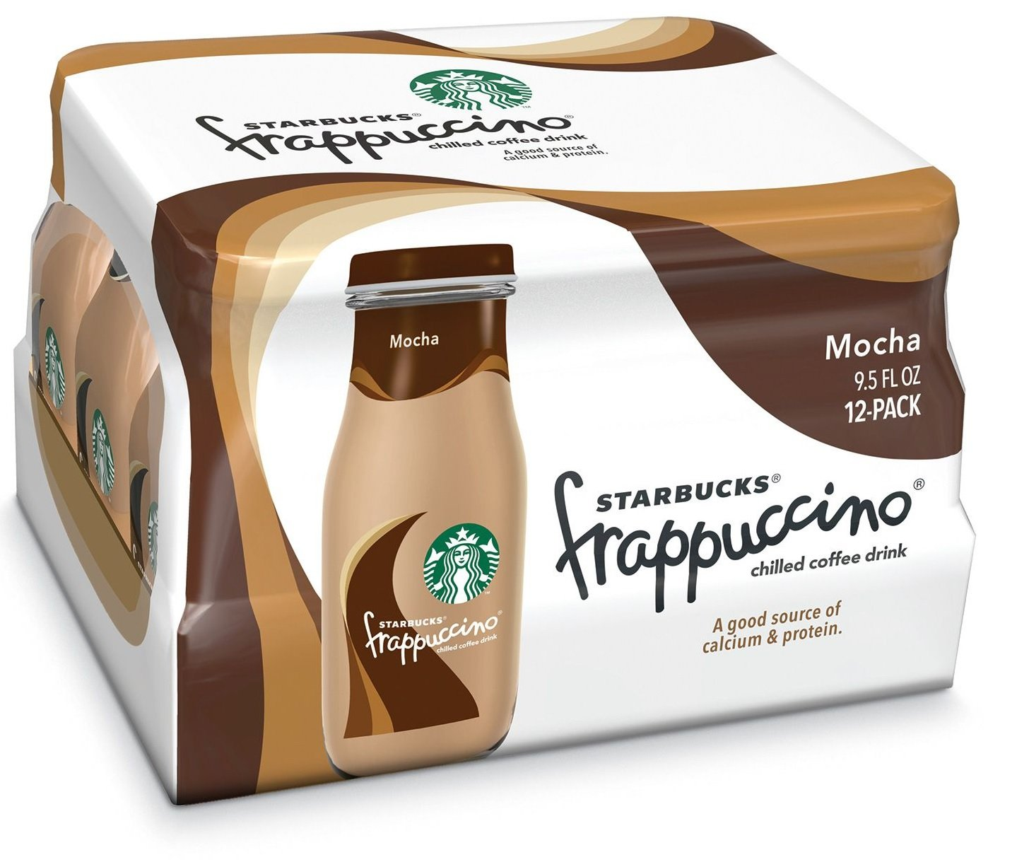Starbucks frappuccino mocha 9.5 fl oz, Pack of 12: Grocery & Gourmet Food