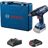 """Parafusadeira e Furadeira de Impacto de ½"""" Bosch GSB 180-LI, 18V, com 1 bateria , 1 carregador bivolt e 1 maleta"""