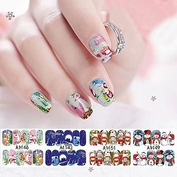 Amazon Hermosotodo Nail Art Decoration Merry Christmas Cartoons