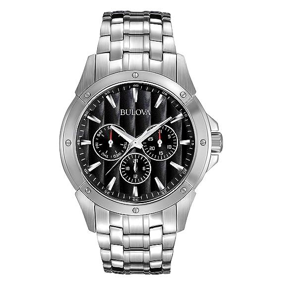 3f74b437c Bulova 96C107 Reloj Análogo para Hombre