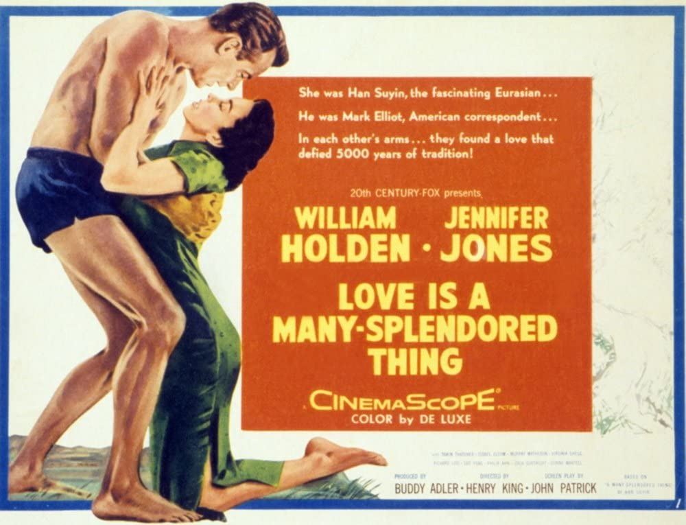 Love Is A Many-Splendored Thing Movie Poster Masterprint (71.12 x ...