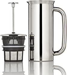 Espro Coffee Press P7-18 oz, Vacuum Insulated, Polished Stainless Steel