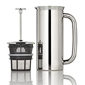 Espro 1018C2 P7 French press, 18 Ounce, Polished Stainless Steel