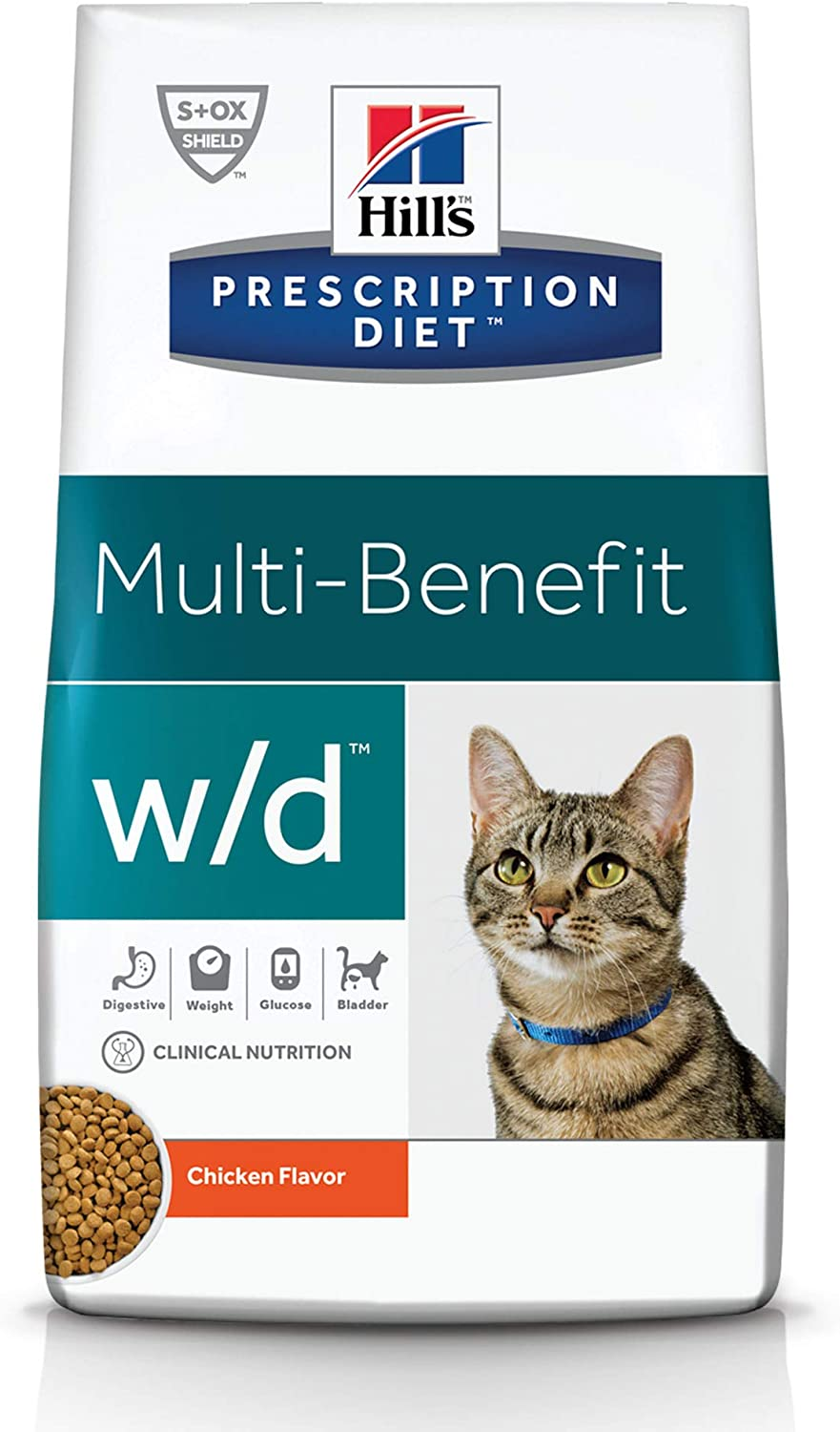 Hill's Prescription Diet w/d Multi-Benefit Digestive/Weight/Glucose/Urinary Management Cat Food