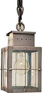 product image for Brass Traditions 432 SHDB Small Hanging Lantern 400 Series, Dark Brass Finish 400 Series Hanging Lantern