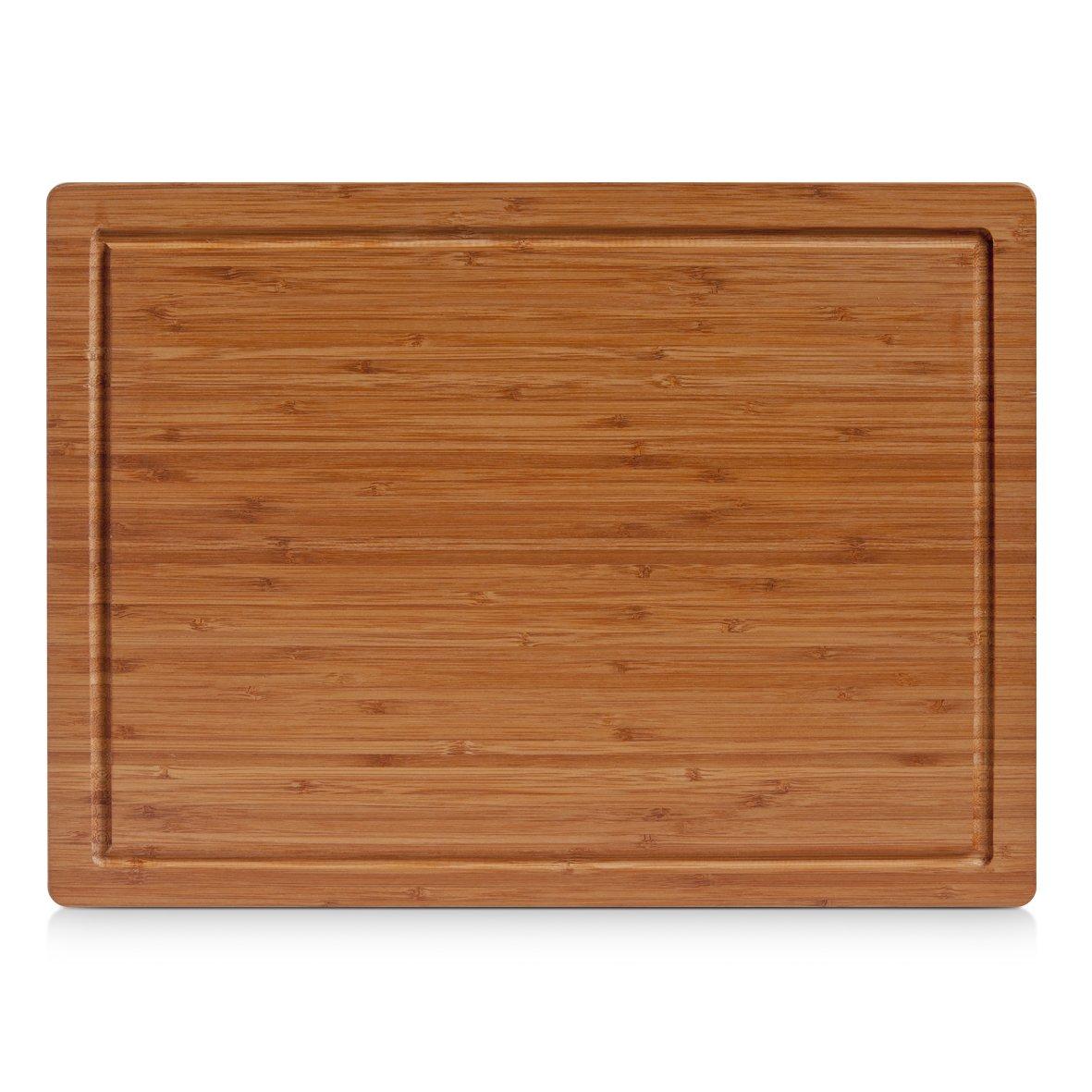Zeller 25219 Planche /à d/écouper Bambou Brun 32 x 22 x 1,6 cm