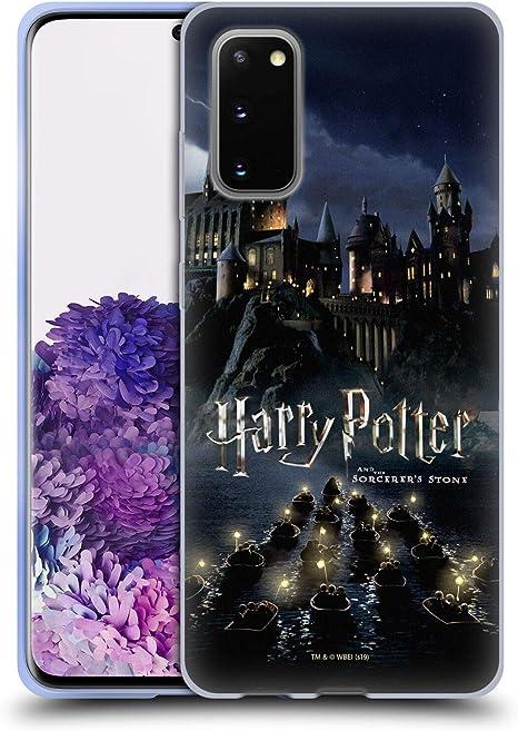 Head Case Designs Officiel Harry Potter Château Sorcerer's Stone II Coque en Gel Doux Compatible avec Samsung Galaxy S20 / S20 5G