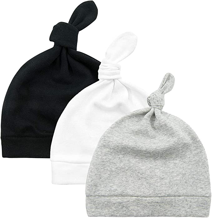 MANSURI Premature Pack of 2 Baby Beanie Hat Tiny Baby Boys Girls Hat Colour Choice 100/% Cotton Soft Baby Hat PRH3
