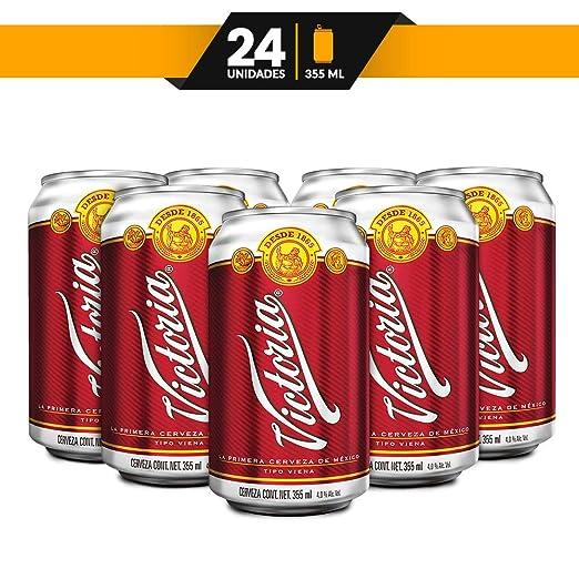 6382eff77ba Cerveza ø mbar Victoria 24 latas de 355 ml c/u