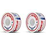 Johnson & Johnson First Aid Waterproof Tape (1-Inch x 10-Yards) (Pack of 2)