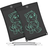 WOBEECO LCD Writing Tablet, 8.5 Inch Electronic Writing &Drawing Board Doodle Board with Lanyard for Kids and Adults at Home,