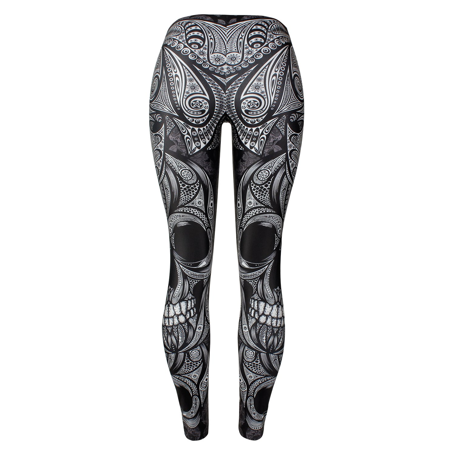 28a7a1f48 Amazon.com  Mad Ink Sexy Tight Pants Skull Tattoo Digital Full 3D Print  Elasticity Leggings Pencil Pants for Women Girls (Art Skull)  Sports    Outdoors