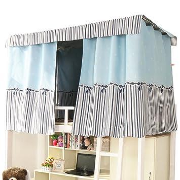 Amazon|間仕切りカーテン 目隠し 2段ベッド用 遮光カーテン 天蓋