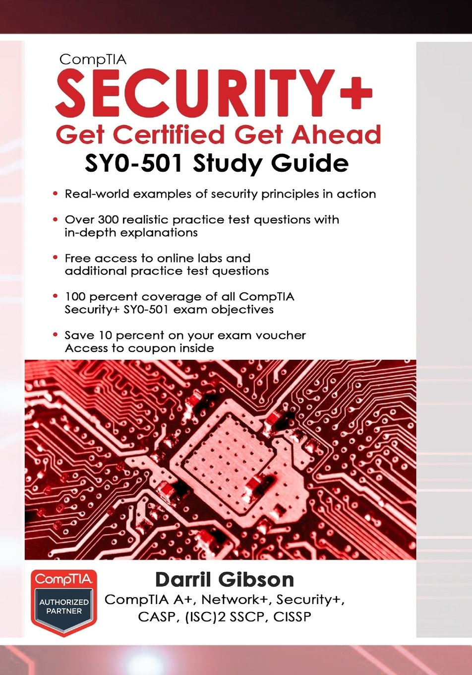 CompTIA Security+ Get Certified Get Ahead: SY0-501 Study Guide (Inglese) Copertina flessibile Darril Gibson 1939136059