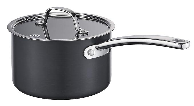 MasterChef MC 700114 Cazo Aluminio anodizado, negro: Amazon.es: Hogar