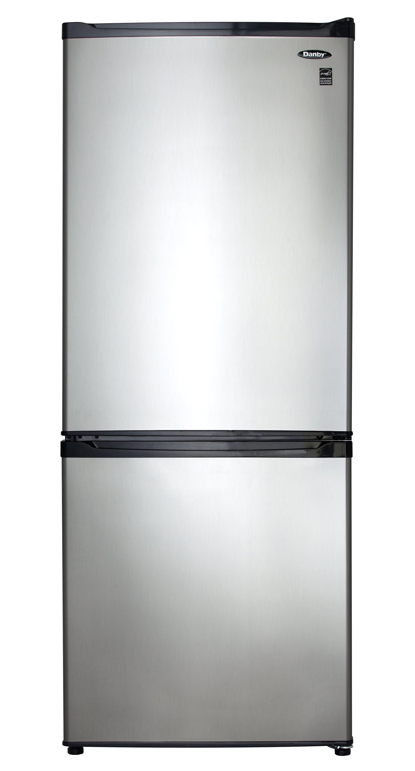 9.2 Cu. Ft. Bottom Mount Freezer- Black with Stainless Steel by Danby