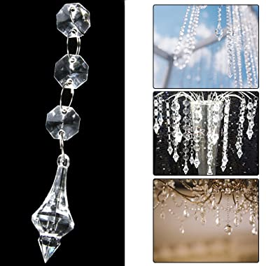 XCSOURCE 30PCS Acrylic Crystal Beads Garland Chandelieging Wedding Party Decor WV101