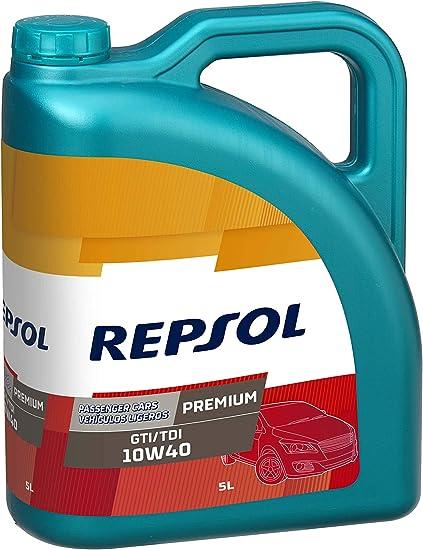 Repsol RP080X55 Premium Gti/Tdi 10W-40 Aceite de Motor para Coche ...